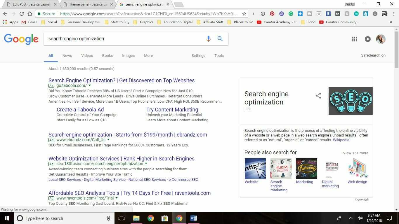 Organic Search Engine Optimization & The Ever-Shrinking Organic Search Results