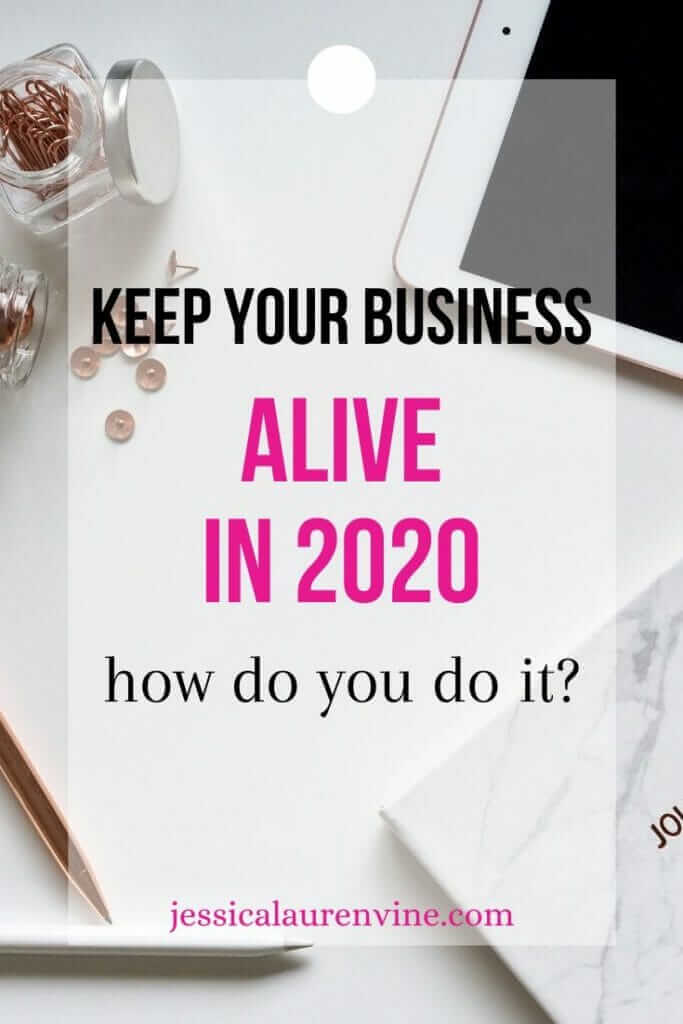 business stays alive