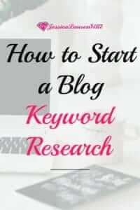 keyword research is important for blogging and getting traffic to your website