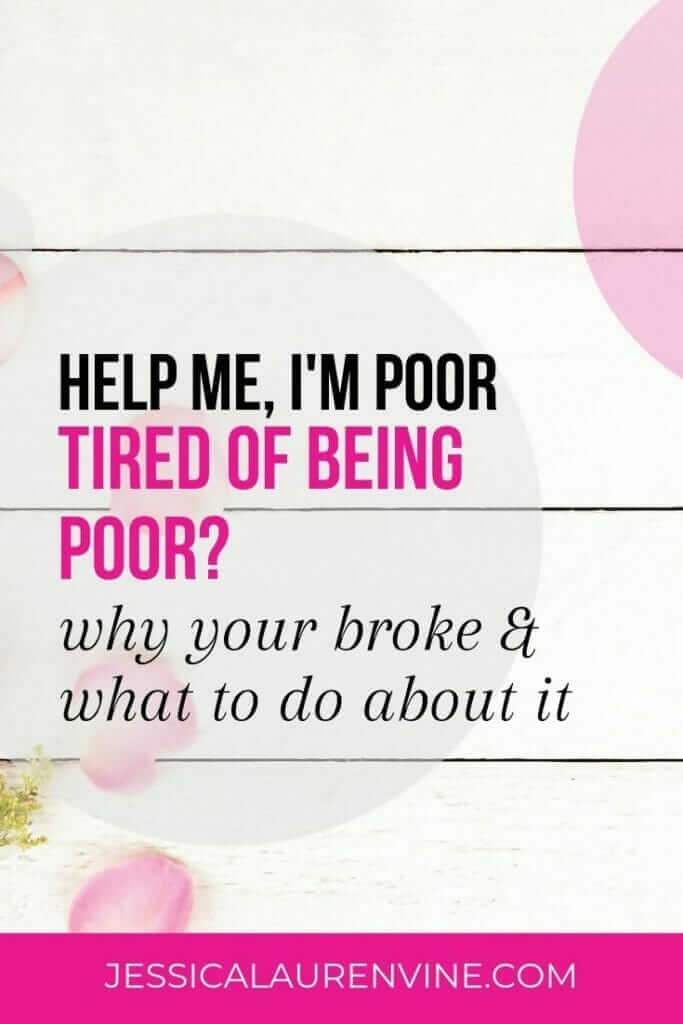 This is a great blog post! I've said help me, I'm poor more than a couple of times and this article really helped me understand why. If you're wondering why you're broke, this is a great article to read and share with a friend. #moneyproblems #moneytips #gettingpaid #makingmoney #savingmoney