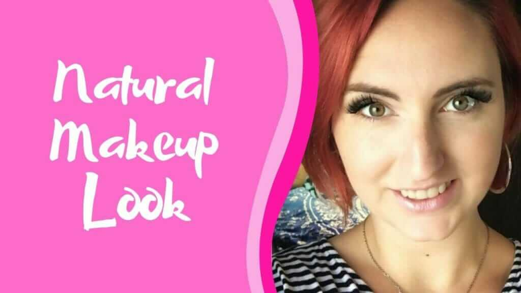 natural makeup look graphic