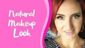 natural makeup look graphic