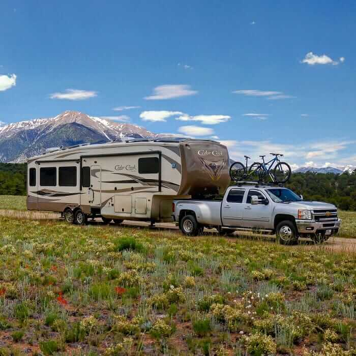 full-time rv setup